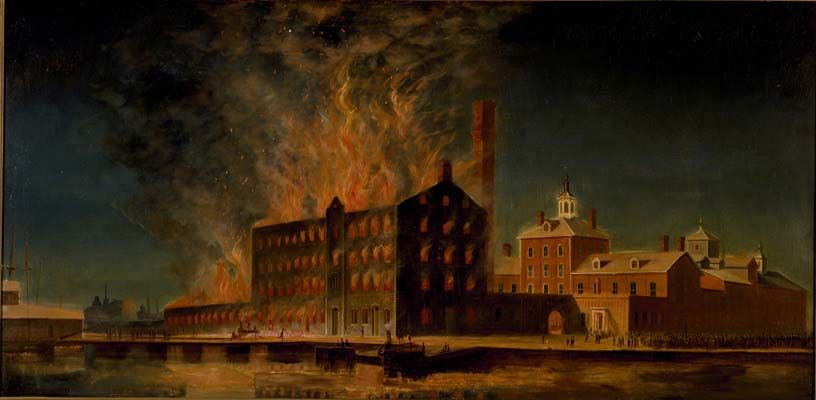 1869 Great Fire of '69