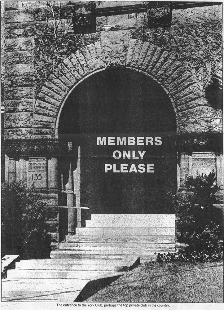 Members Only - a private club