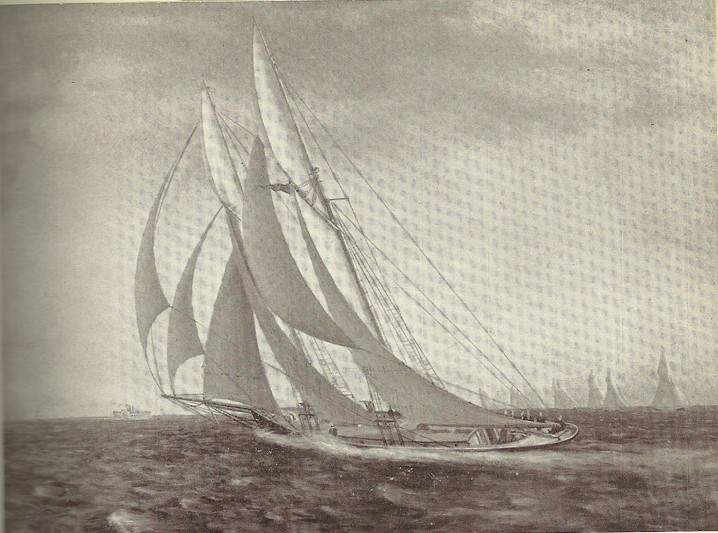 Kwasind newsletter about return of Oriole sailing ship to RCYC